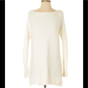 Vince Camuto ribbed boat-neck sweater